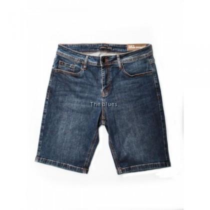 Blue Man Demin Bermuda Short