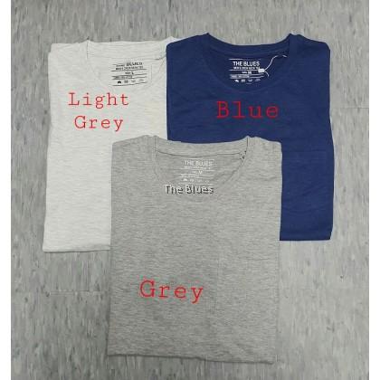 Blue Man Plain T-shirt
